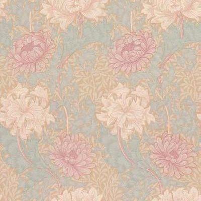 Обои для спальни дизайн Chrysanthemum арт. 216860 из коллекции Compilation Wallpaper от Morris , Великобритания купить недорого с доставкой., Compilation Wallpaper, Обои для гостиной, Обои для кабинета, Обои для спальни