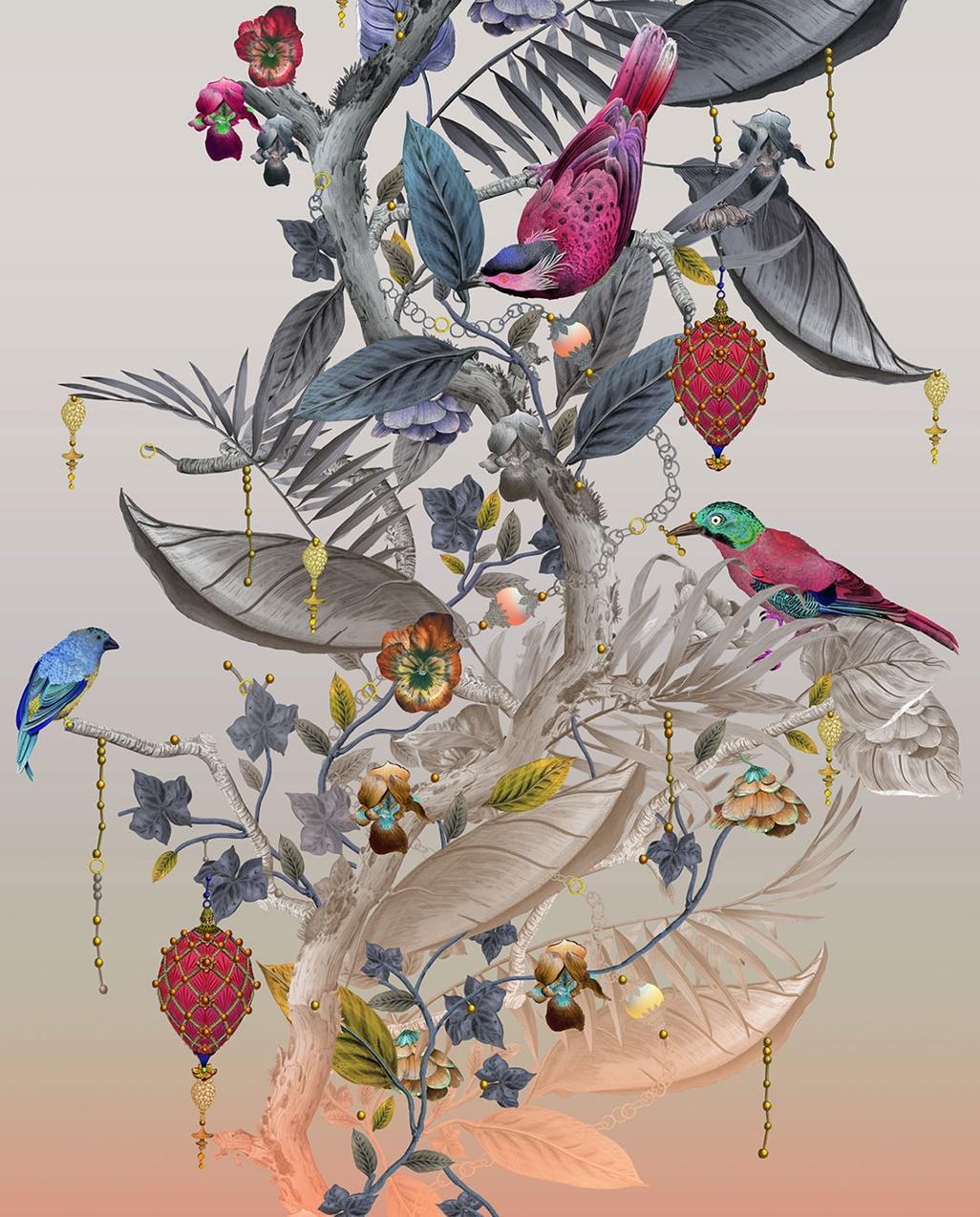 10._Ecclesiastical_Botanica_Silk_Fabric