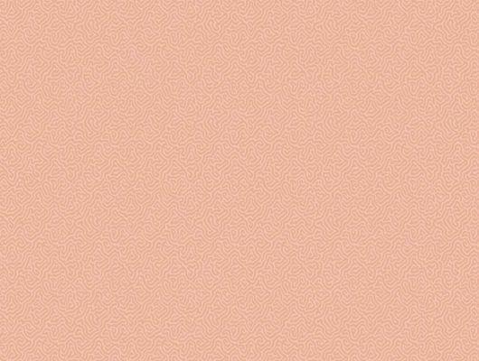 Обои нежнейшего как филе лосося кораллового цвета с восхитительным дизайном, Landscape Plains, Обои для комнаты