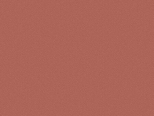 Красные обои с уникальным рисунком коралла сделают вашу стену яркой, Landscape Plains, Английские обои, Обои для комнаты