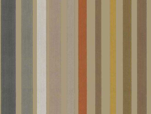 Полосатые обои на стену с метализироваными полосами на белом фоне, Mariinsky Damask, Английские обои, Полосатые обои, Хиты продаж