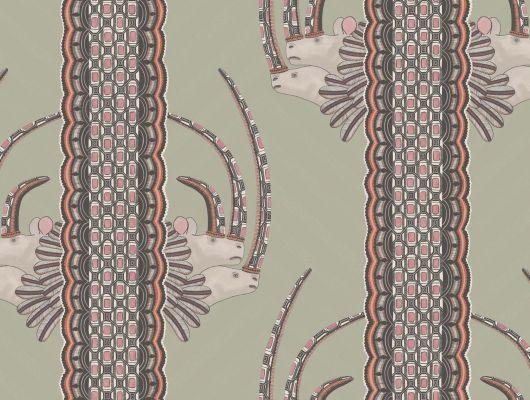 Квартирные обои от английских дизайнеров, африканская коллекция обоев. обои с носорогами купить в Москве, Ardmore, Английские обои, Дизайнерские обои, Обои для квартиры