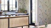 Флизелиновые обои для коридора с птицами из коллекции Japandi  от Scion выбрать  в большом ассортименте в салоне odesign