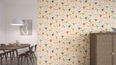 подобрать обои для спальни Padukka с цветочным узором  из коллекции Esala от Scion в большом ассортименте