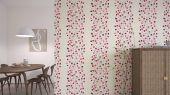 Купить дизайнерские обои в спальню Berry Tree  с ярким ягодным узором из коллекции Esala от Scion в Москве