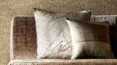 Купить обои для гостиной арт. 112561 из коллекции Anthology 07 с абстрактным рисунком в песчаном цвете в интернет-магазине О-Дизайн.Фото в интерьере