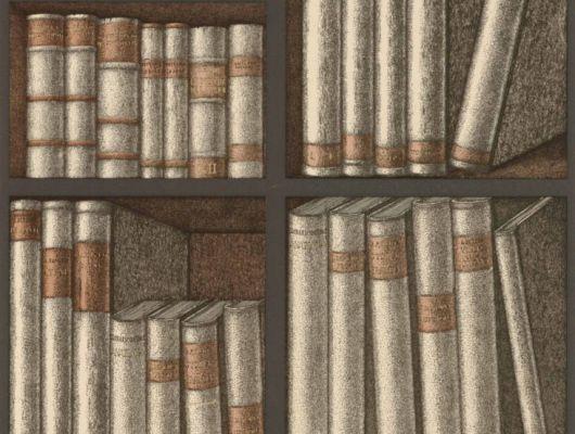 Обои Ex Libris от итальянского дизайнера Fornasetti, Fornasetti Senza Tempo, Английские обои