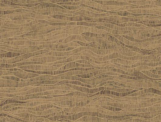 """Обои Cole & Son - """"Meadow"""" арт. 115/13041. Дизайн задуман как отражение естественных изгибов вересковых пустошей и долин, встречающихся по всей Британии, бронзового и сажевых цветов, воплощенный в акварельной технике. Обои для квартиры, обои на стену, дизайнерские обои., Botanical Botanica, Обои для гостиной, Обои для кабинета"""
