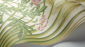 """Обои Cole & Son - """"Bluebell"""" арт. 115/3008 - это Затейливый орнамент из полевых цветов, ростков пшеницы, маков, гиацинтоидесов и колокольчиков цвета весенней зелени и лазурнонебесного на кремовом фоне. Обои Cole & Son, Стоимость, заказать доставку."""