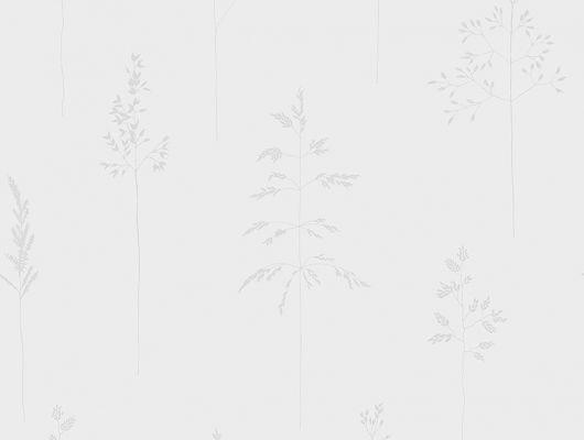 Светлые обои с простым растительным рисунком для уютного фона в спальне, Everyday Moments, Обои для квартиры, Обои для спальни