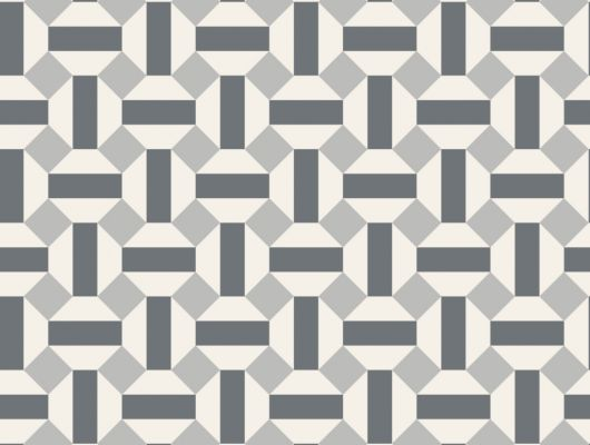Флизелиновые обои пр-во Великобритания коллекция Seville от Cole & Son, геометрический рисунок под названием Alicatado в черно-серой гамме на белом фоне. Обои для гостиной, обои для кухни, обои для коридора. Купить обои в интернет-магазине, большой ассортимент, бесплатная доставка, Seville, Обои для гостиной, Обои для кухни, Хиты продаж
