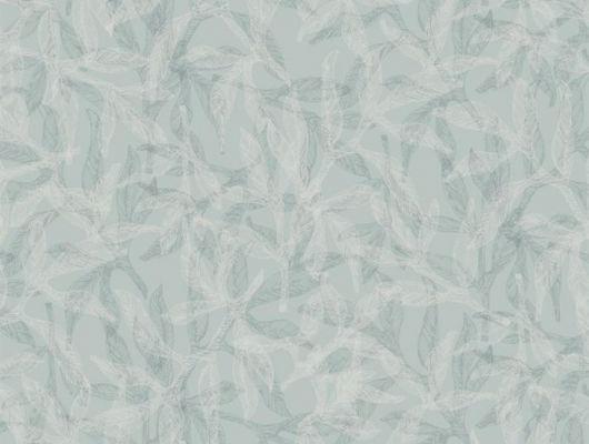 Дизайн обоев Nagar от Fardis представляет Вашему вниманию растительный орнамент, где листья и лепестки частично накладываясь друг на друга создают неподвластный времени образ, а структурный металлик голубого оттенка создаст в помещение приятное ощущение прохлады - арт. 117056. Выбрать, заказать, оплатить.., SHANGRI LA, Обои для гостиной, Обои для кухни, Обои для спальни