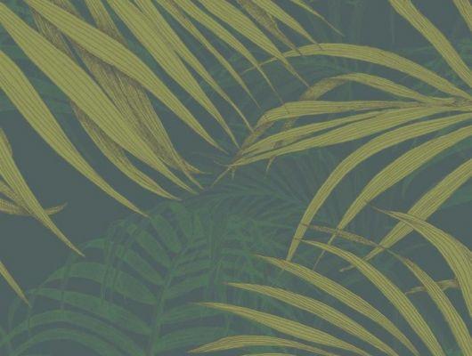 Обои Fardis - Maui  создают ощущение параллельного мира в с тропическими пальмами тихоокеанских стран. Арт. 117067 выполнен на фоне структурного металлика цвета красного моря с листьями лаймового и изумрудного оттенка, создающие ощущение глубины в пространстве. Английские обои, Обои Fardis, Каталог обоев., SHANGRI LA, Обои для гостиной, Обои для кабинета, Обои для спальни