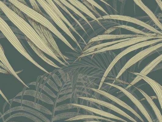 Обои Fardis - Maui  создают ощущение параллельного мира в с тропическими пальмами тихоокеанских стран. Арт. 117071 выполнен на фоне структурного металлика цвета красного моря с листьями оливкового и серо-бежевого оттенка, создающие ощущение глубины в пространстве. Стильный интерьер, дизайнерские обои, цена., SHANGRI LA, Обои для гостиной, Обои для кабинета, Обои для спальни
