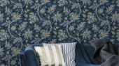 Обои Delphine арт. 11740 от Fardis. Один из архивных дизайнов, послужил вдохновением для их создания, который напоминает старинный гобелен. Растительный орнамент в синих, красных, терракотовых, сиреневых и горчичных тонах выполнен на фоне красно-розового цвета. Посмотреть коллекцию, выбрать обои, заказать доставку.