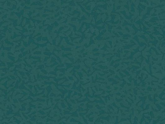 Обои Fardis - Foliage арт. 11765 в темно-бирюзовом исполнении, служит хорошим дополнением к более ярким узорам данной коллекции. Орнамент складывается из абстрактных изображений падающих листьев. Обои для ремонта, обои для комнаты, красивые обои., CANTARI, Обои для гостиной, Обои для спальни