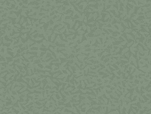 Обои Fardis - Foliage арт. 11766 в зеленом исполнении, служит хорошим дополнением к более ярким узорам данной коллекции. Орнамент складывается из абстрактных изображений падающих листьев. Стильный интерьер, стильные обои, стоимость., CANTARI, Обои для гостиной, Обои для спальни