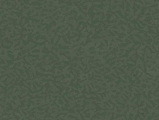 Обои Fardis - Foliage арт. 11767 в темно-зеленом исполнении, служит хорошим дополнением к более ярким узорам данной коллекции. Орнамент складывается из абстрактных изображений падающих листьев. Дизайнерские обои, заказать обои, купить обои в Москве., CANTARI, Обои для гостиной, Обои для спальни