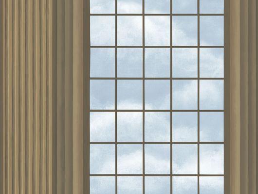 """Английские флизелиновые обои, арт. 118/5009 """"Verrio Sky"""", бренда Cole & Son , из коллекции Great Masters . Обои для гостиной с изображением арочных сводов,небесный фон придающий глубину и объём в пространстве, рисунок с золотым напылением. Купить в Москве с бесплатной доставкой, широкий ассортимент., HRP - Great Masters, Английские обои, Новинки, Обои для гостиной, Обои для кабинета"""