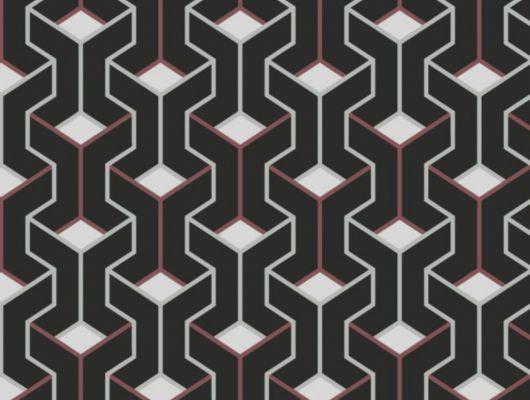 Флизелиновые обои для спальни GEO ESHER, с объемным геометрическим рисунком, в светлых тонах, купить в Москве, доставка обоев на дом, оплата обоев онлайн, GEO, Обои для гостиной, Обои для кабинета, Обои для спальни