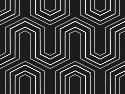 Обои флизелиновые  Fardis GEO VECTOR для гостиной, с крупным геометрическим рисунком, в черно белых цветах, купить в Москве, доставка обоев на дом, оплата обоев онлайн, большой ассортимент, GEO, Обои для гостиной, Обои для кабинета