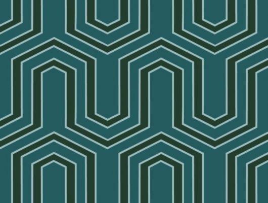 Обои флизелиновые  Fardis GEO VECTOR для гостиной, с крупным геометрическим рисунком, в бирюзовых и зеленых оттенках, купить в Москве, доставка обоев на дом, оплата обоев онлайн, большой ассортимент, GEO, Обои для гостиной