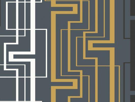 Обои виниловые на флизелиновой основе Fardis GEO NEWTON , для гостиной, с геометрическим рисунком на черном фоне, купить в Москве, доставка обоев на дом, оплата обоев онлайн, большой ассортимент, GEO, Обои для гостиной, Обои для кабинета