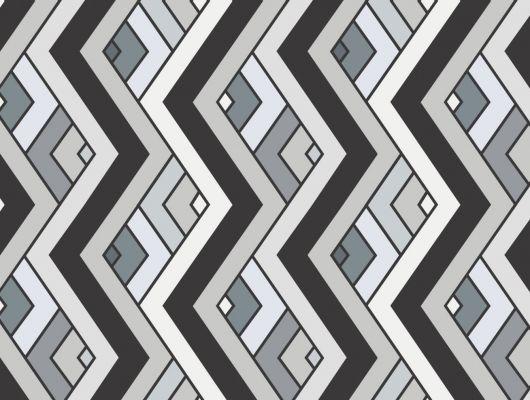 ALT - Обои виниловые на флизелиновой основе Fardis GEO VENN, для гостиной, с геометрическим рисунком, в серых, черных и белых цветах, купить в Москве, большой ассортимент, доставка обоев на дом, интернет-магазин обоев , оплата обоев онлайн, салон обоев, GEO, Обои для гостиной, Обои для кабинета