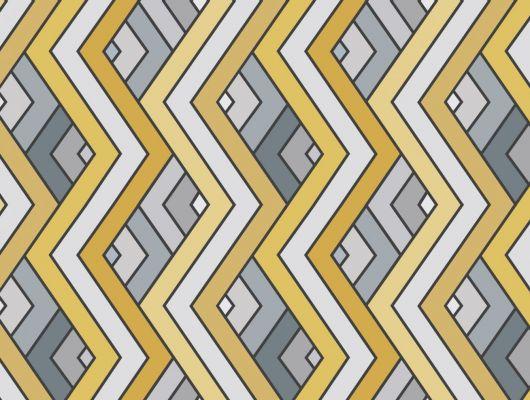Обои виниловые на флизелиновой основе Fardis GEO VENN, для гостиной, с геометрическим рисунком, в серых и желтых оттенках, купить в Москве, большой ассортимент, доставка обоев на дом, интернет-магазин обоев , оплата обоев онлайн, салон обоев, GEO, Обои для гостиной, Обои для кабинета