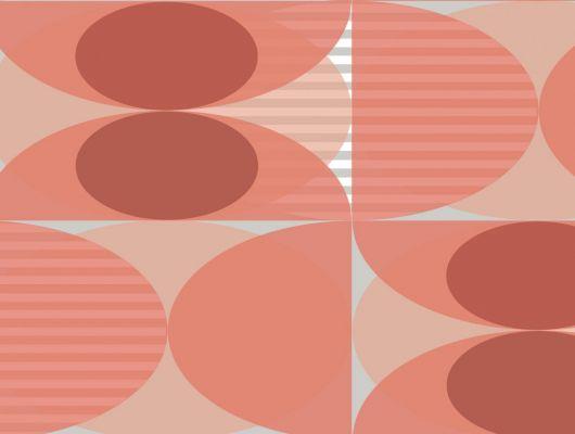 Обои флизелиновые Fardis GEO SOLAR, для гостиной, для кухни, с крупным геометрическим рисунком, розового и серого цвета, купить в Москве, большой ассортимент, доставка обоев на дом, интернет-магазин обоев , оплата обоев онлайн, салон обоев, GEO, Новинки, Обои для гостиной, Обои для кабинета, Обои для кухни