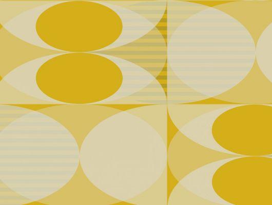 Обои флизелиновые Fardis GEO SOLAR, для гостиной, для кухни, с крупным геометрическим рисунком, желтого и серого цвета, купить в Москве, большой ассортимент, доставка обоев на дом, интернет-магазин обоев, оплата обоев онлайн, салон обоев, GEO, Обои для гостиной, Обои для кабинета, Обои для кухни
