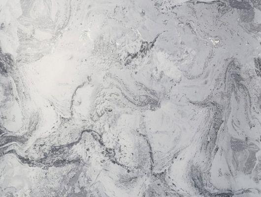 Обои виниловые с принтом  под мрамор черно-белого цвета. Обои в ванную, обои в гостинную, абстрактные обои, обои с блеском,, DECO, Обои для гостиной, Обои для кухни