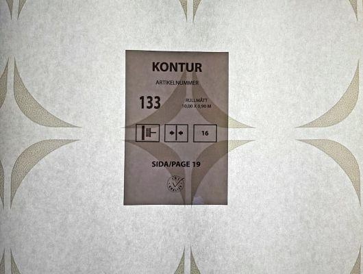 Заказ обоев под покраску 133 из коллекции Kontur 15 от Eco Wallpaper, с современным геометрическим узором изп прерывистых кругов, Kontur 15, Архив, Обои для кабинета, Обои для кухни, Обои под покраску