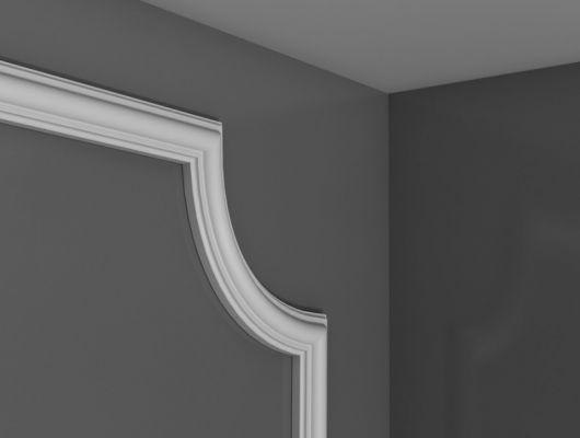Угловой молдинг панелей PX120A, Orac decor, Лепнина и молдинги, Молдинги, Назначение, Угловые молдинги панелей