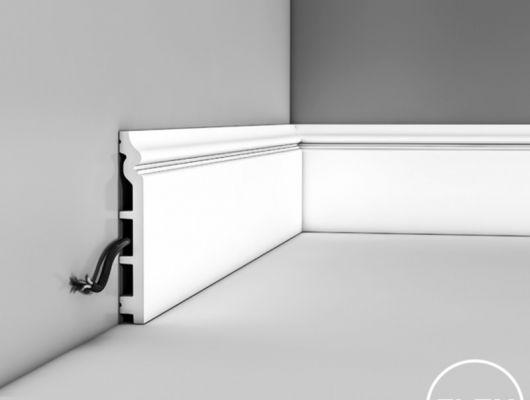 Плинтус SX118 - CONTOUR, Orac decor, Лепнина и молдинги, Назначение, Плинтусы