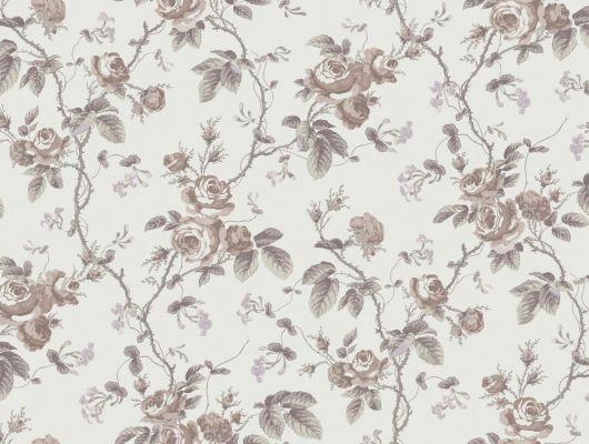 Вдохновленные французским орнаментом 1845, винтажный узор из роз создаст в вашей гостиной романтическую обстановку, A Vintage Book, Архив, Обои для гостиной, Обои для квартиры, Распродажа, Флизелиновые обои, Хиты продаж