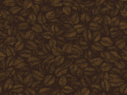 Комнатные обои с осенне-бурой листвой станут идеальным компаньоном для вечеров с какао и зефиром, Scandinavian Designers II, Обои для квартиры, Обои для комнаты