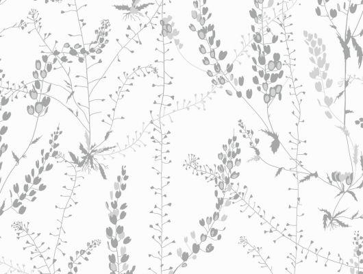 Обои для вашей квартиры от известного датского дизайнера Арне Якобсена с растительным орнаментом, Scandinavian Designers II, Обои для квартиры