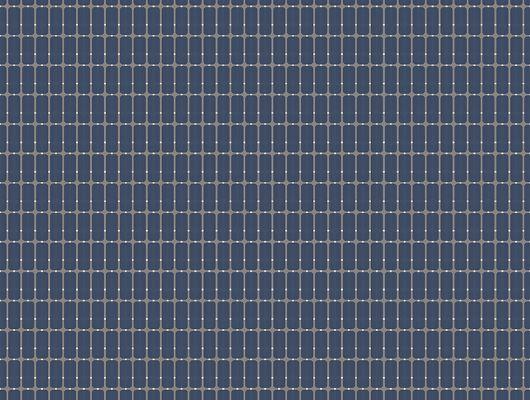 Заказать Флизелиновые обои из Швеции коллекция Scandinavian Designers III от Borastapeter M.I.T. Ритмичный геометрический рисунок в виде сетки  на фоне темного ночного неба, Scandinavian Designers III, Новинки, Обои в клетку, Обои для гостиной, Обои для кабинета, Флизелиновые обои