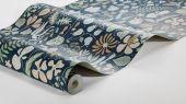 Флизелиновые обои из Швеции коллекция Scandinavian Designers III от Borastapeter   HERBARIUM .Плотный цветочный узор в скандинавском стиле.