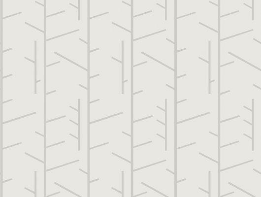 Флизелиновые обои из Швеции коллекция Scandinavian Designers III от Borastapeter под названием TASSEL.  Стилизованный растительный рисунок в графичном исполнении  на фоне  теплого серого цвета  . Узор характерен для скандинавского стиля., Scandinavian Designers III, Обои для гостиной, Обои для кабинета, Обои для кухни, Обои для спальни, Флизелиновые обои