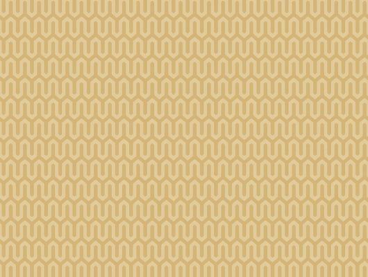 Флизелиновые обои из Швеции коллекция Scandinavian Designers III от Borastapeter под названием  YPSILON.Классический геометрический рисунок в виде  зигзагообразной линии  в приглушенных желтых тонах, Scandinavian Designers III, Обои для гостиной, Обои для кабинета, Обои для кухни, Обои для спальни, Флизелиновые обои