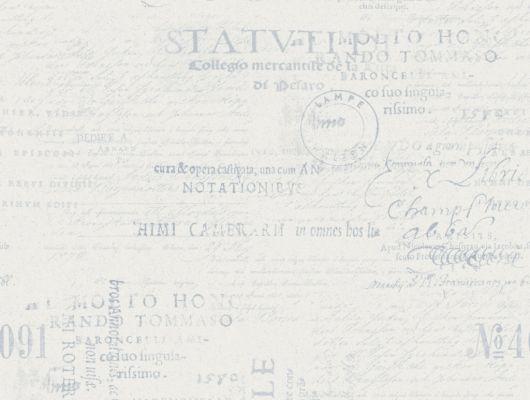 Флизелиновые обои из Швеции коллекция Northern FEELINGS от Collection For Walls под названием Lyrics. Шрифт стилизованный под старину синего цвета на светлом фоне. Обои для спальни, обои для гостиной, обои для коридора. Бесплатная доставка, купить обои, большой ассортимент, Northern FEELINGS, Обои для гостиной, Обои для кабинета, Обои для кухни, Обои для спальни, Флизелиновые обои