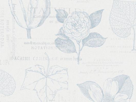 Флизелиновые обои из Швеции коллекция Northern FEELINGS от Collection For Walls под названием Botanical. Рисунок обоев выполнен в стиле ботанические иллюстрации голубого цвета на светлом фоне. Обои для кухни, обои для гостиной. Купить обои, большой ассортимент, бесплатная доставка, Northern FEELINGS, Архив, Обои для гостиной, Обои для кабинета, Обои для кухни, Флизелиновые обои
