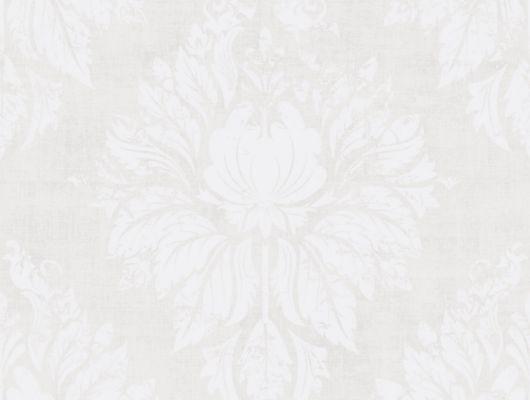 Флизелиновые обои из Швеции коллекция Northern FEELINGS от Collection For Walls под названием Ornament. Классический, крупный орнамент белого цвета на светло-бежевом фоне. Обои для гостиной, обои для кабинета. Купить обои, большой ассортимент, бесплатная доставка, Northern FEELINGS, Архив, Обои для гостиной, Обои для кабинета, Обои для спальни, Флизелиновые обои