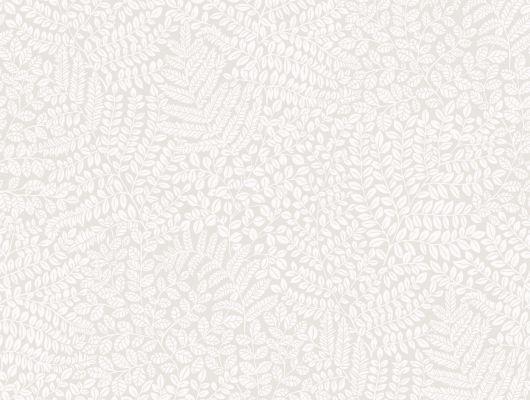 Флизелиновые обои из Швеции коллекция Vårt Arkiv от Borastapeter под названием BLADVERK. Обои бело-серого оттенка с мелким растительным узором. Обои для спальни, обои для кухни, для прихожей. Купить обои в интернет-магазине Одизайн, бесплатная доставка, онлайн оплата, Vart Arkiv, Обои для кухни, Обои для спальни, Обои с цветами, Флизелиновые обои