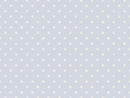Флизелиновые обои из Швеции коллекция Northern FEELINGS от Collection For Walls под названием Dot. Классический, нежный горошек бледно-белого цвета на голубом фоне. Большой ассортимент, купить обои в салоне Одизайн, Northern FEELINGS, Архив, Обои для кухни, Обои для спальни, Флизелиновые обои
