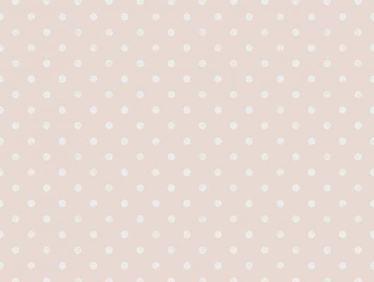 Флизелиновые обои из Швеции коллекция Northern FEELINGS от Collection For Walls под названием Dot. Классический, нежный горошек бледно-белого цвета на пастельно розовом фоне. Большой ассортимент, купить обои в салоне Одизайн, Northern FEELINGS, Архив, Обои для кухни, Обои для спальни, Флизелиновые обои