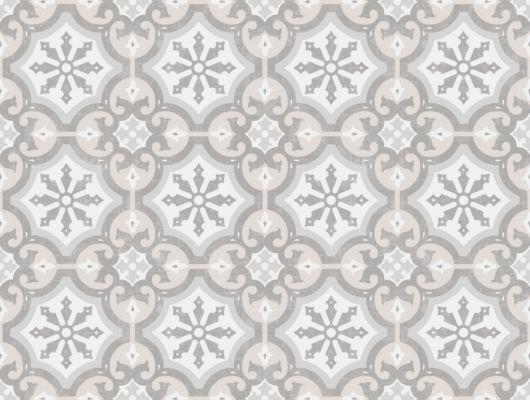 Флизелиновые обои из Швеции коллекция Northern FEELINGS от Collection For Walls под названием Marrakesh. Имитация керамической плитки бежевого, серого и белого цвета. Обои для кухни. Купить обои в интернет-магазине Одизайн, бесплатная доставка, онлайн оплата, Northern FEELINGS, Архив, Обои для гостиной, Обои для кухни, Флизелиновые обои