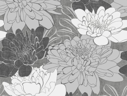 Флизелиновые обои из Швеции коллекция Northern FEELINGS от Collection For Walls под названием Donna. Крупный графический рисунок. Обои для спальни, обои для гостиной. Большой ассортимент, купить обои в салоне Одизайн, Northern FEELINGS, Обои для гостиной, Обои для кухни, Обои для спальни, Флизелиновые обои
